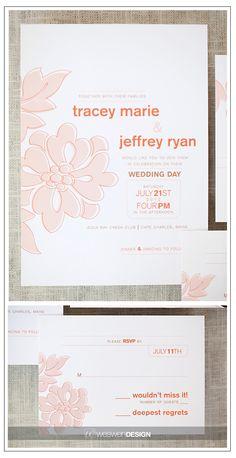 Austin design, The Maggie Collection #wedding #invitation #weddinginvitations
