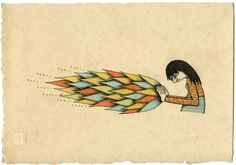 Mel Kadel's Drawings Art And Illustration, Illustrations, Color Patterns, Feather, Artsy, Collage, Cool Stuff, Drawings, Image
