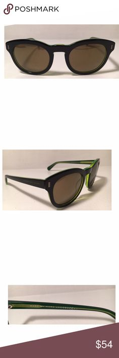 New! Marc by Marc Jacobs Sunglasses Details: frame material: acetate, frame color: Nero verde (black green), size: 49-23-145 mm (eye-bridge-temple), 100% UV protection, Imported, also includes: case, dust cloth, and drawstring pouch. NEW with tags. Marc by Marc Jacobs Accessories Sunglasses