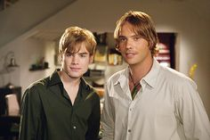 "7th heaven   7th Heaven - David Gallagher as ""Simon Camden"" and Barry Watson as ..."