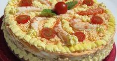 tarta de langostinos con Thermomix, tartas frias thermomix, recetas de navidad thermomix, pasteles para el verano thermomix,