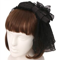 Lace Ribbon, Tulle Lace, Japanese Online, Ribbon Headbands, Angelic Pretty, Lolita Fashion, Headdress, Shopping, Dresses