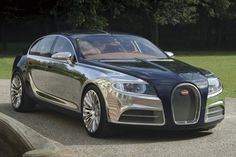 Bugatti Galibier Leaks Out After Private Unveiling In Molsheim.  [wow]