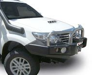 Toyota Fortuner With Bullbar.