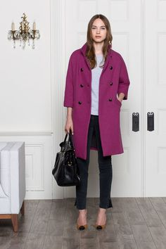 Emerson Fry Italian wool coat.  LOVE.