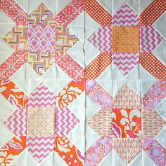 AnneMarie Chany's list of free quilt block tutorials, featuring modern and traditional quilt blocks. Links to over quilt block tutorials. Fabric, patchwork, and piecing! Small Quilt Projects, Quilting Projects, Quilting Designs, Quilting Ideas, Quilt Design, Vinyl Projects, Sewing Projects, Small Quilts, Easy Quilts
