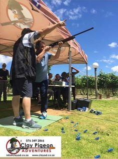 Wild Clover offers specially arranged clay pigeon shooting under expert guidance and in a very safe environment. Clay Pigeon Shooting, Farm Activities, Environment, Adventure, Adventure Movies, Adventure Books