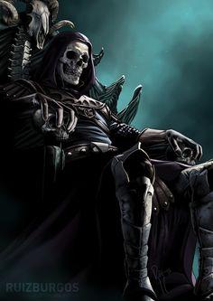 Skeletor by Ruiz Burgos