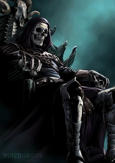 Lich Lord  by Only Milo