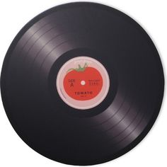 JOSEPH JOSEPH Tomato vinyl record worktop saver 30cm (78 PLN) ❤ liked on Polyvore featuring fillers, music, accessories, home and extras