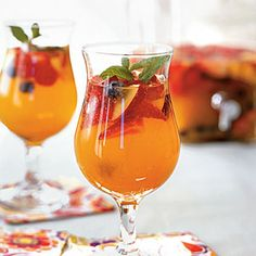 Cool Summer Cocktails | Sparkling Sangria | MyRecipes.com