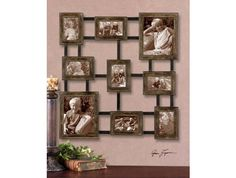 Max Furniture Lucho Hanging Photo Collage Wall Art by Uttermost http://www.maxfurniture.com/decor/wall-art/lucho-hanging-photo-collage.html