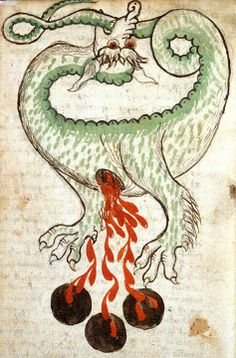 And this dragon is beginning to realise just how badly he's fucked all this up. 44 Medieval Beasts That Cannot Even Handle It Right Now Medieval Dragon, Medieval World, Medieval Art, Medieval Manuscript, Illuminated Manuscript, Weird Creatures, Mythical Creatures, Renaissance, Ouroboros
