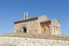Coruña del Conde - ermita románica del Santo Cristo