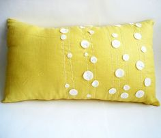 Spring Forward with Handmade Pillows from Sukan Art — Etsy Find | Apartment Therapy