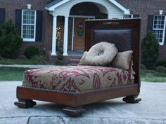 Luxury Pet Bed by BedofRubys on Etsy