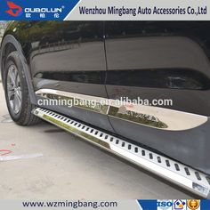 For 2013 Hyundai IX45 Santa Fe Car Exterior Accessories Stainless Steel Side Moulding Trim