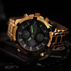 Men's double movement Men's Watches LED strip waterproof watchesluxury watches wholesale life  usa9001.com/mens-double-movement-mens-watches-led-strip-waterproof-watches-luxury-watches-wholesale-life_p1296.html