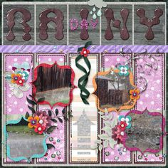This is for Elizabeth's January 2017 Dancing With Letters-Letter R Challenge.  I used Five of a Kind Quickclick Template, Berry Blessings, Chillin', the December Posting Bonus Chillin' Shapes, and the Purple Cheer Papers (Thank You Elizabeth!) all by Elizabeth's Market Cross.