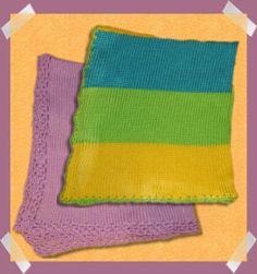 Mary's Bulky Snuggle Blanket; machine-knitting