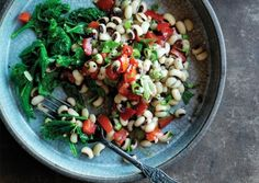 New Years Black-Eyed Peas and Greens | Vegetarian Times