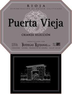 Puerta Vieja Crianza Selección #Rioja #wine
