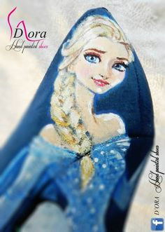 https://www.facebook.com/pages/DORA-Hand-Painted-Shoes/144006675801939 #handpainted #hand #painted #shoes #frozen #scarpe #dipinteamano #dipinte #art #fashion #high #heels #plateaux