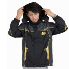 Mobile suit gundam sweatshirt for men cool cosplay Banshee black coat