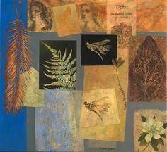 Victoria Crowe (British, b. 1945  The Garden at Uzes  2012