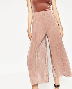 ZARA - WOMAN - PLEATED TROUSERS