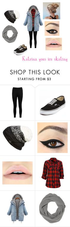 """""""Katrina Stark    Cold Date"""" by lost-in-the-clouds ❤ liked on Polyvore featuring Boohoo, Vans, Bench, Full Tilt and The Elder Statesman"""