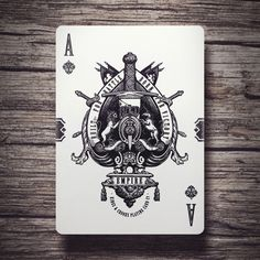 """Empire Ace of Spades """"Built for Battle, Born for Victory"""" - Click to Enlarge"""