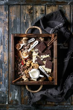 Ingredients for hot chocolate by Natasha Breen - Photo 231045929 / 500px