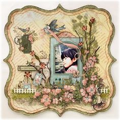 Outstanding paper artist Yuka Hino  #scrapbook #blog #crafts