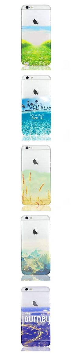We love these colorful iPhone cases with beautiful images and quotes. Choose the one that's best for you.