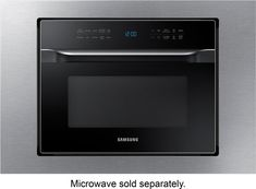 Samsung - Trim Kit for Samsung MC12J8035CT Countertop Microwaves - Stainless Steel (Silver)