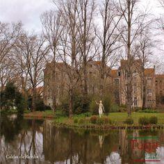 O Parque D. Carlos I em Caldas da Rainha, uma bela cidade do Oeste de Portugal