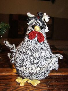 Ravelry: Spring Chicken pattern by Jacqui Turner Knitting Patterns Free, Free Knitting, Free Pattern, Chicken Pattern, Spring Chicken, Little Things, Pet Toys, Rooster, Crochet Hats