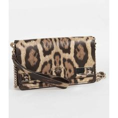 Guess Milo Crossbody Purse - Khaki/Brown ($34) ❤ liked on Polyvore featuring bags, handbags, shoulder bags, brown handbags, purse crossbody, man bag, guess purses and handbags shoulder bags