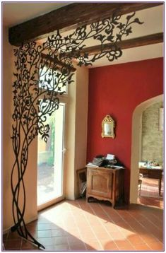 6 Far-Sighted Clever Ideas: Room Divider Metal room divider panels antiques.Sliding Room Divider room divider metal home. Metal Room Divider, Room Divider Screen, Portable Room Dividers, Wall Dividers, Decorative Room Dividers, Hanging Room Dividers, Space Dividers, Wrought Iron Decor, Diy Home Decor