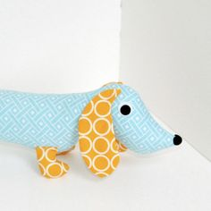 Stuffed animal for the boys.  To all my sewing buddies - I need three of these! :-)