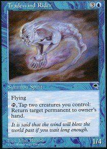 Magic: the Gathering - Tradewind Rider - Tempest
