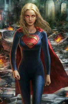 Supergirl by JonnyKlein on DeviantArt Marvel Dc Comics, Dc Comics Girls, Dc Comics Art, Supergirl Comic, Melissa Supergirl, Kal El Superman, Superman Family, Batgirl, Female Superhero