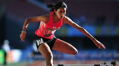 Hurdler and The Straits Times Athlete of the Year 2014 nominee Dipna Lim-Prasad uses past disappointments to spur her to record-breaking success Late Bloomer, Commonwealth Games, Her World, Singapore, Athlete, Wonder Woman, Celebs, Running, Superhero