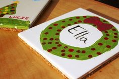Tile Trivet: Homemade Christmas Gifts
