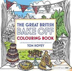 THIS GREAT BRITISH BAKE OFF COLORING BOOK IS THE BEST TECHNICAL CHALLENGE