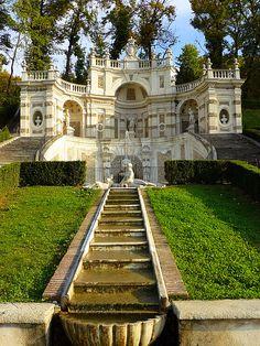 Villa Della Regina fountain. Torino - Italy  Where my dad was born...well, not in the fountain.