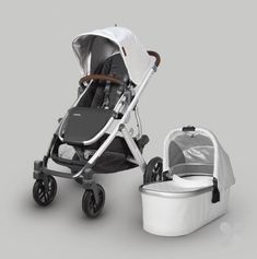 2019 UPPAbaby Vista - Bryce (White Marl/Silver/Chestnut Leather - Baby Names - Travel Systems For Baby, Storing Baby Clothes, Baby Club, Minimalist Baby, Baby Boutique Clothing, Umbrella Stroller, Baby Bassinet, Traveling With Baby, Baby Essentials
