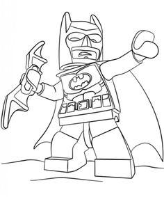 Ausmalbilder Lego Batman