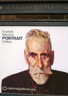 John Byrne at the Scottish National Portrait Gallery